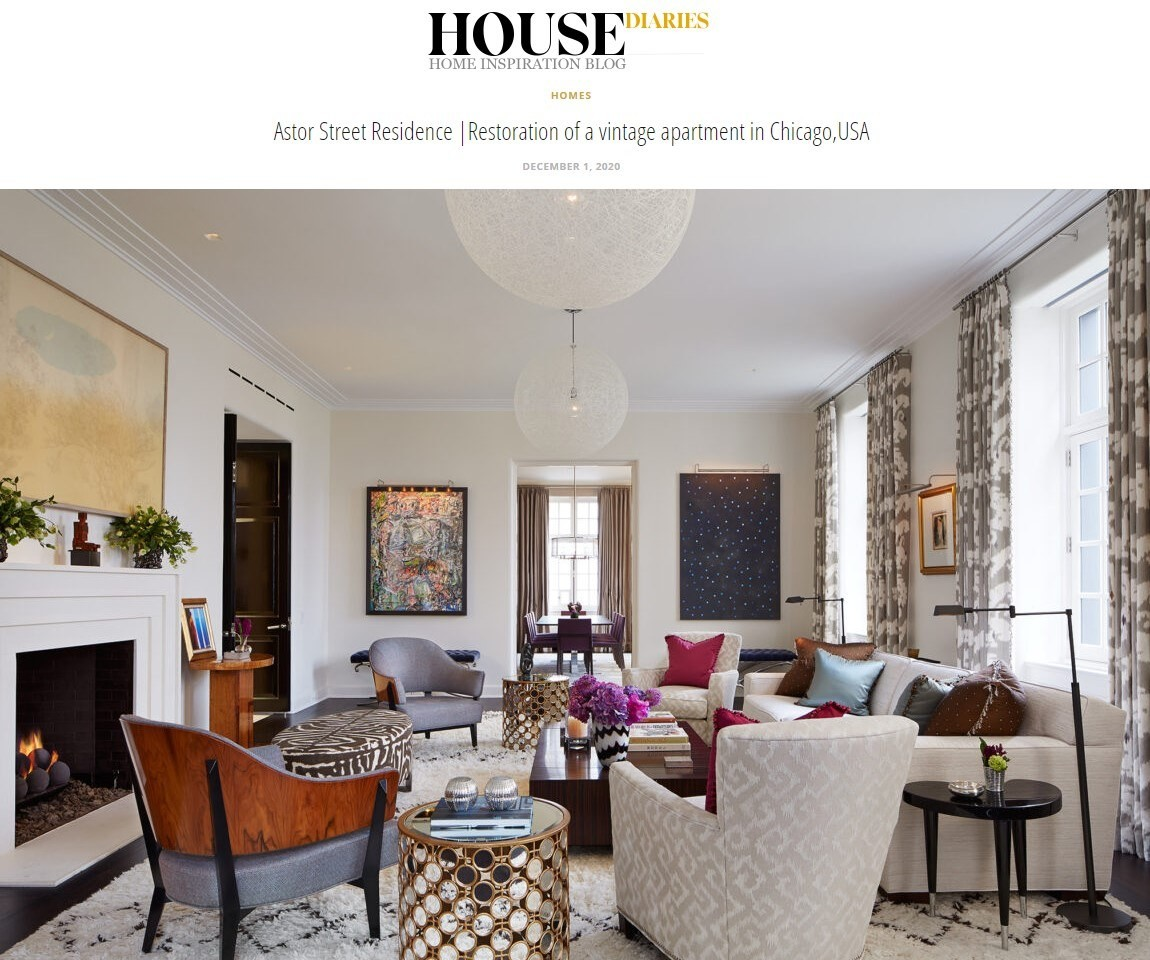 House Diaries Feature